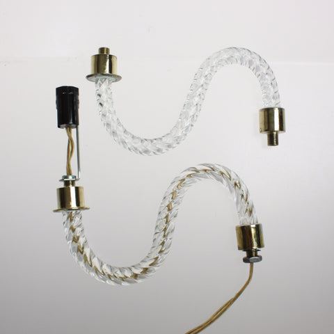 "Special 6"" &  8"" Rope S Arm (distressed brass ferrule)"