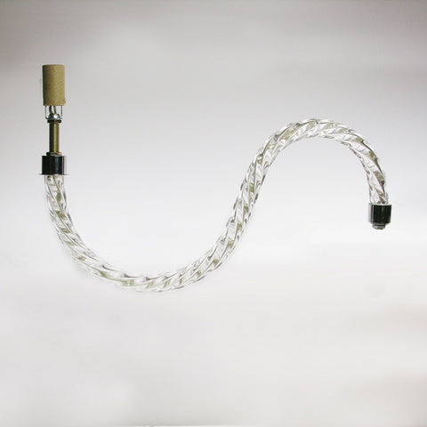 Rope S Arm with wiring and socket (Several sizes)