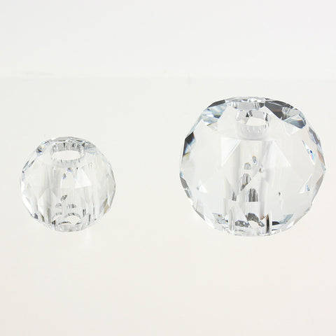 Tapered Center Faceted Ball <br> (2 sizes)