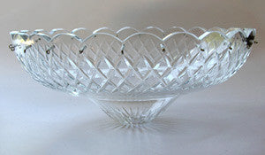 Criss Cross Hand Cut Body Dish