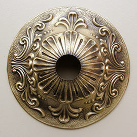 Cast Antique Finish Brass Canopy