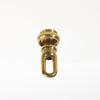 Heavy Cast Screw Collar (Brass or Silver)