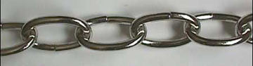 Chrome 4 gauge Chain (3 feet)