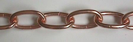 Copper Chain (3 feet)