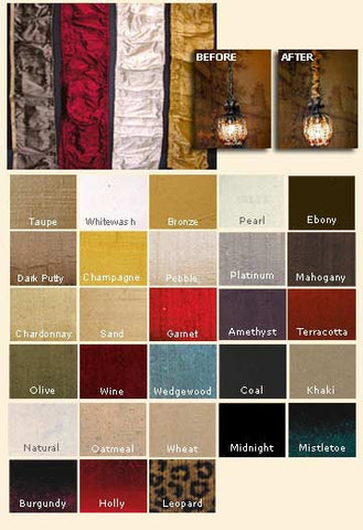 Chandelier Chain Covers (26 colors)