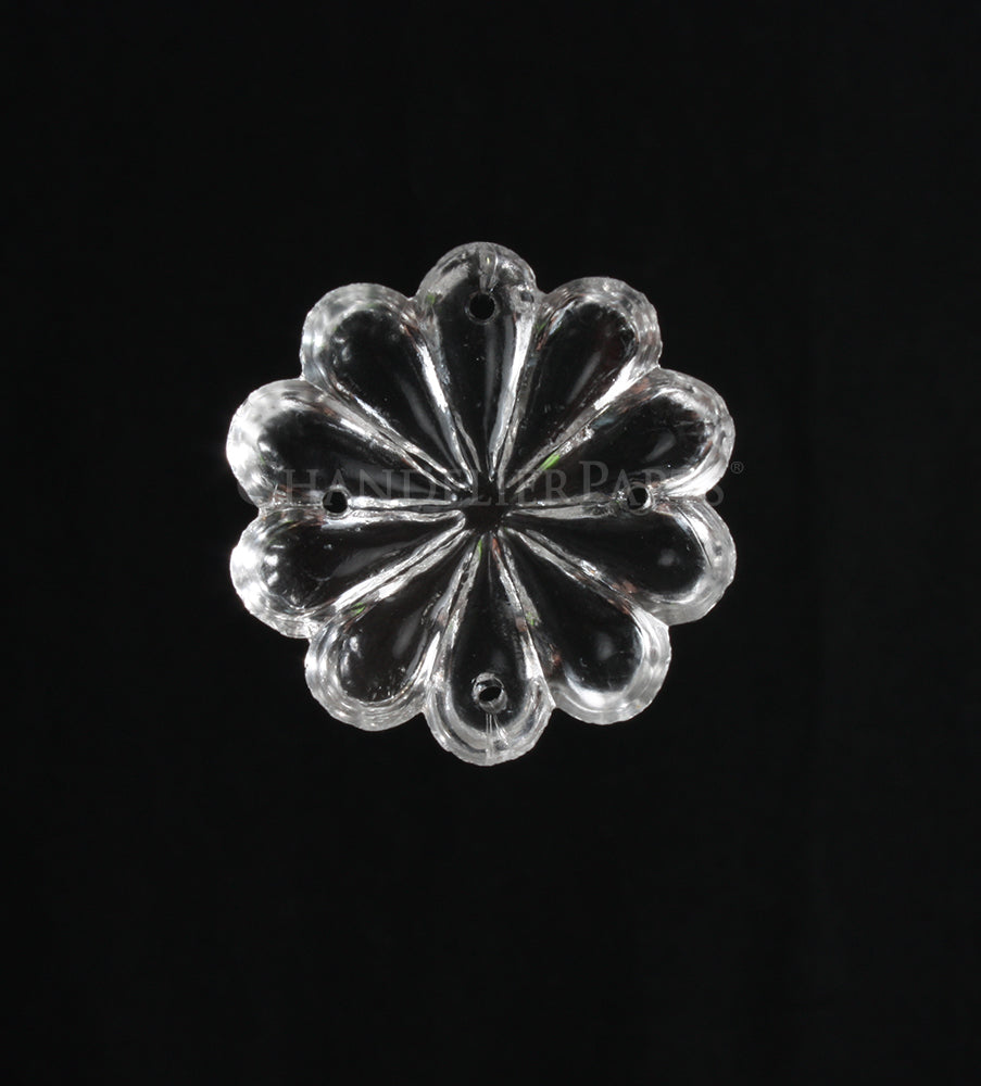 Czech Four Hole Rosette <BR> (3 sizes)