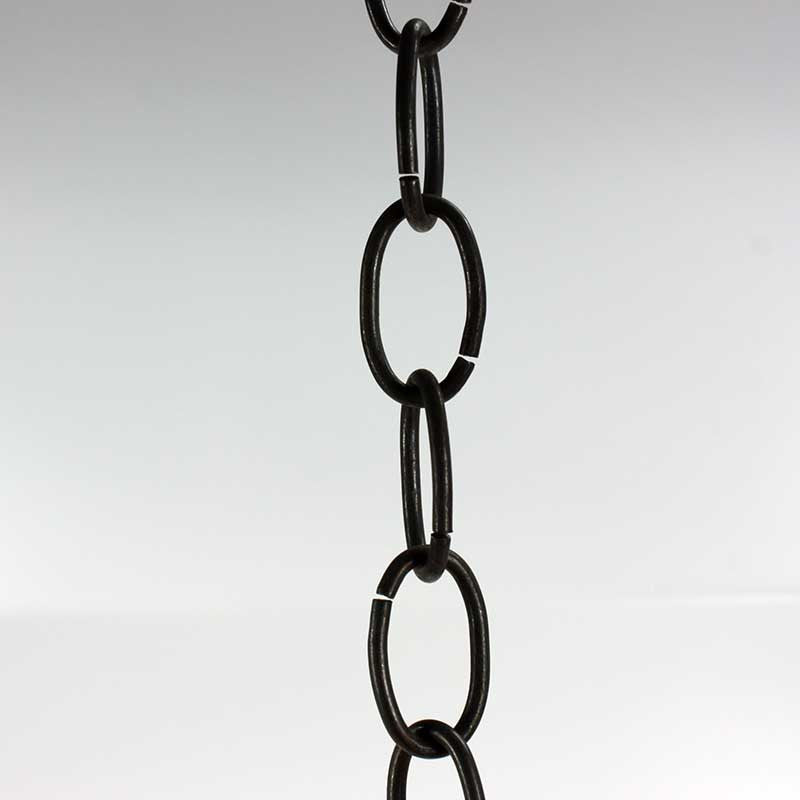 12' Black Lightweight Chain
