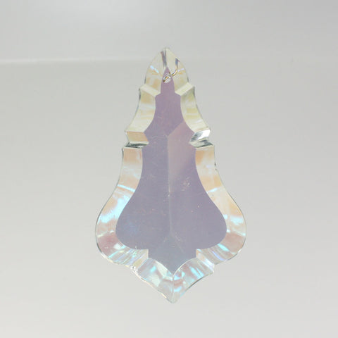 "4"" Aurora Borealis Pendalouge with No Top Bead"