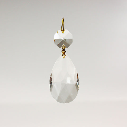 "1-1/2"" Teardrop w/ Top Bead"