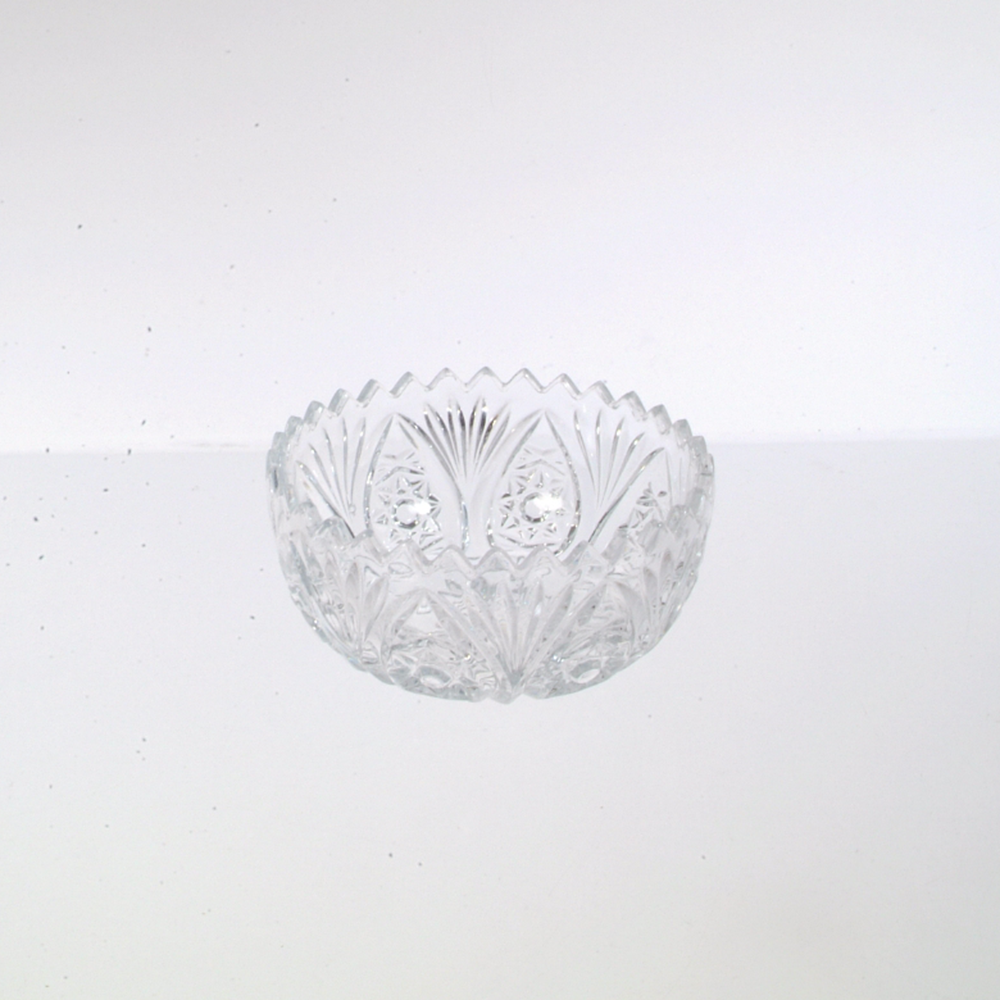 "4 1/2"" Decorative Glass Bowl"