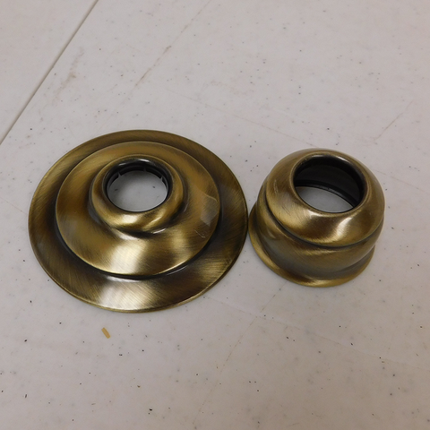 Brass Candle Cap Set