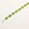 "7"" 14 Bead Green Bead Linkage"