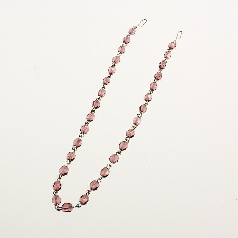 "11-1/2"" 30 Bead Rose Bead Linkage"