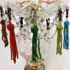 "2"" Glass Beaded Tassels <br> (Pack of 12)"