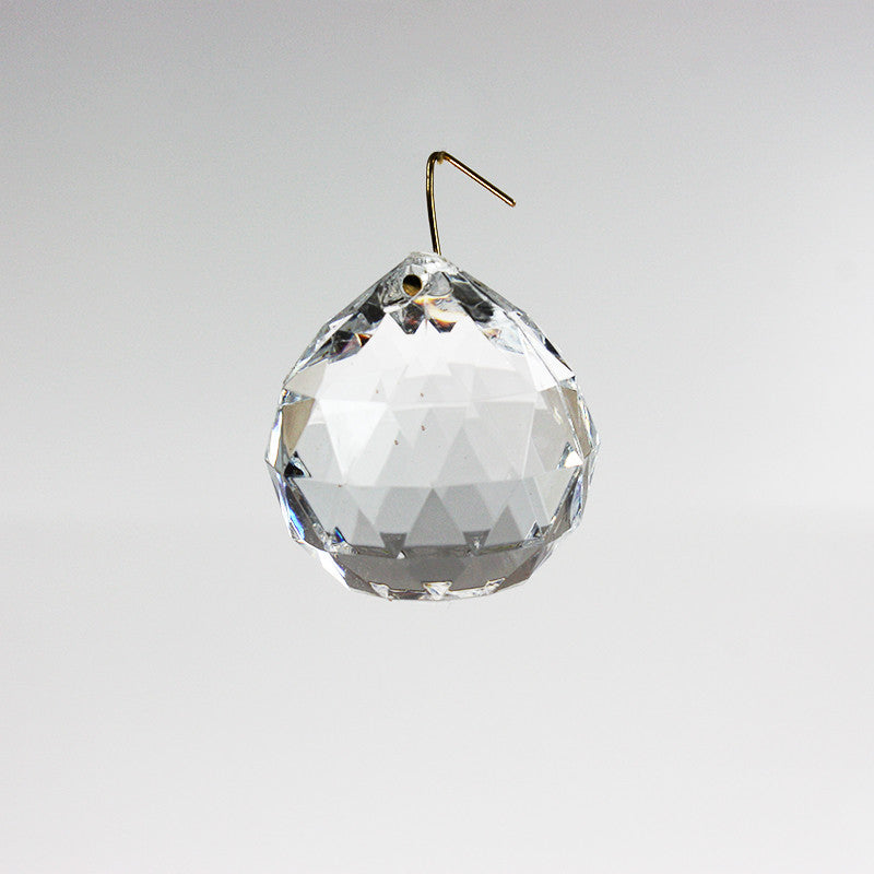 50mm Acrylic Ball w/ Gold Wire