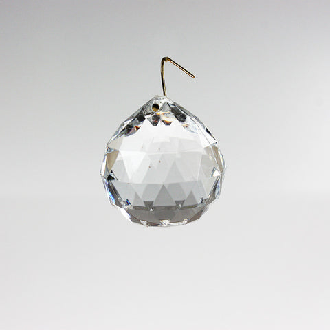 40mm Acrylic Ball w/ Gold Wire