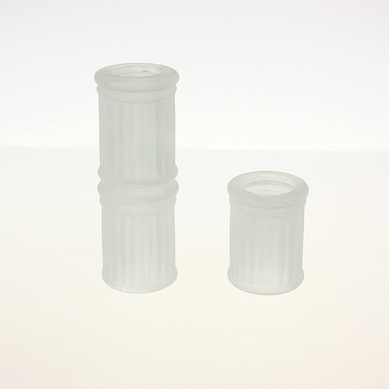 "1"" Inside Diameter Frosted Spacer <br> (2 sizes)"