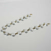 14mm Leaded Crystal Chains<br> 10, 12, 14 and 16 bead