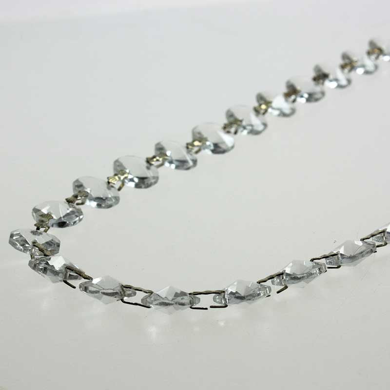14mm Octagon 52 Bead Chain