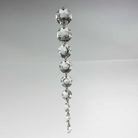 Leaded A-1 Crystal Graduated Chain<br>15, 16, 17, 18 and 19 bead