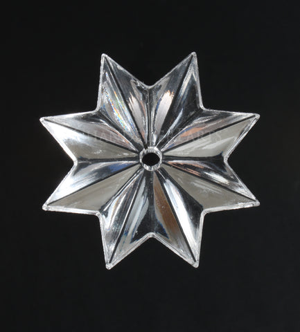 Turkish Crystal Star w/ Center Hole <br> (11 sizes)