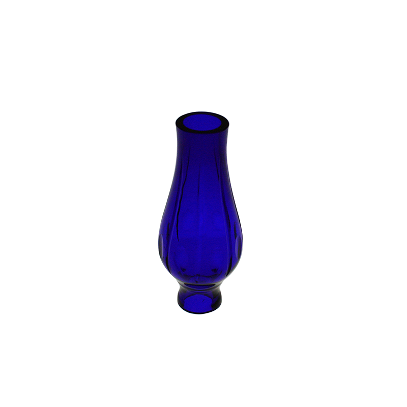 152mm Cobalt Blue Hollow Crystal Column