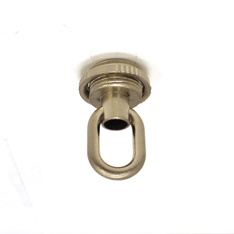 "1-7/8"" Nickle Plated Screw Collar Loop w/ Wireway"