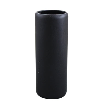 Black Resin Candle Cover (6 inch) medium base