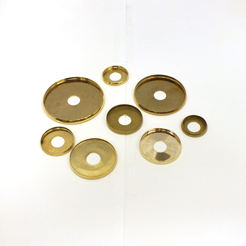Brass Plated Check Rings, 1/8 IP (11 Sizes)