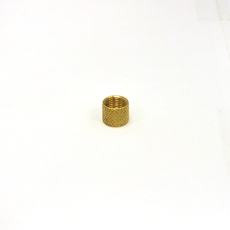 "5/16"" Solid Brass Knurled Coupling"