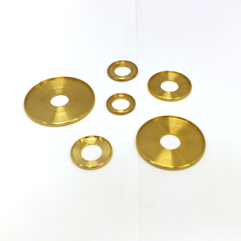 Solid Brass Check Rings, 1/4 IP Slip (6 Sizes)