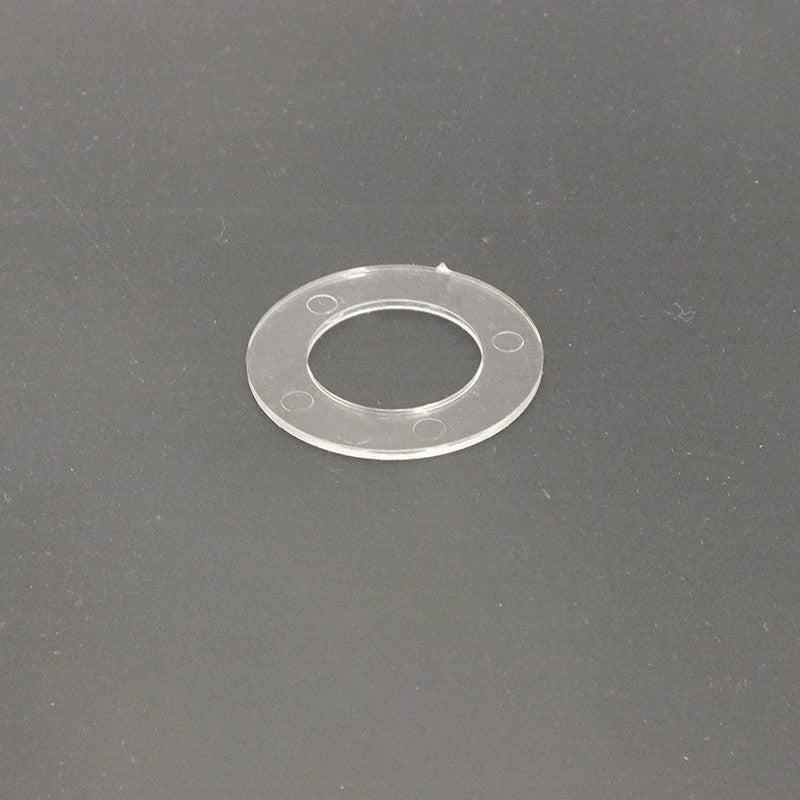 "1-1/2"" Clear Plastic Washer"