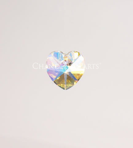 SWAROVSKI® 18mm Crystal Heart Pendant <br> (4 colors)