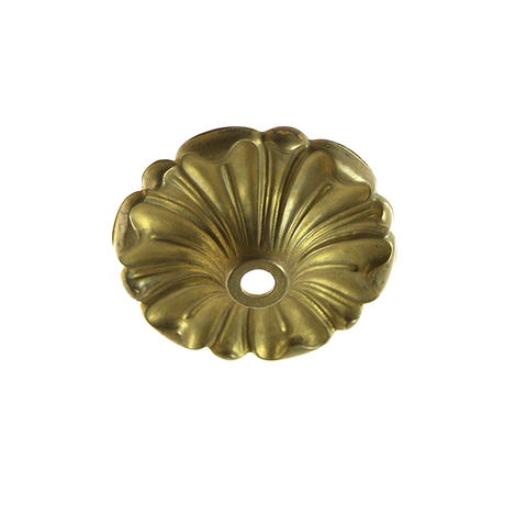 80mm Cast Brass Bobeche<br>No pin