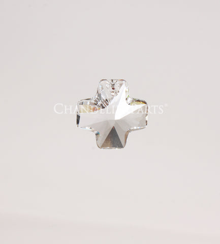 SWAROVSKI® 20mm Clear Crystal Cross Pendant