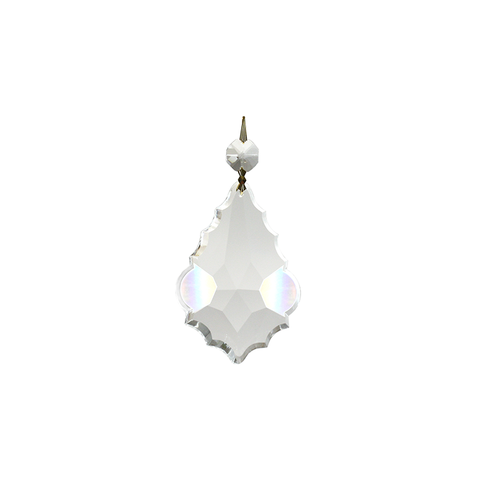 SPECIAL - Clear Pendalogue w/ top bead (3 sizes)