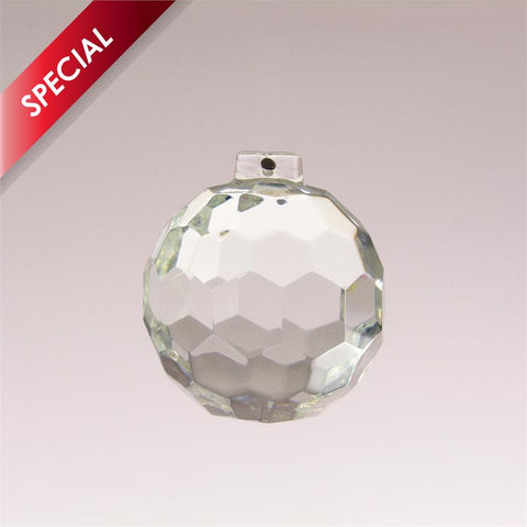 SPECIAL - Clear Faceted Chandelier Balls (2 sizes)