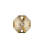 SWAROVSKI STRASS®<BR>24mm 2-hole Colored Octagons (2 colors)