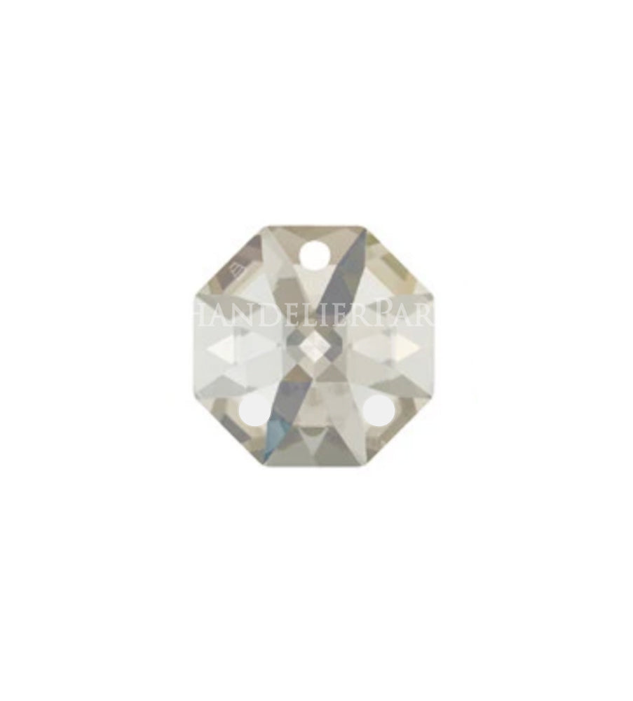 SWAROVSKI STRASS®<BR>14mm Clear Octagons, 3 Hole (2 colors)
