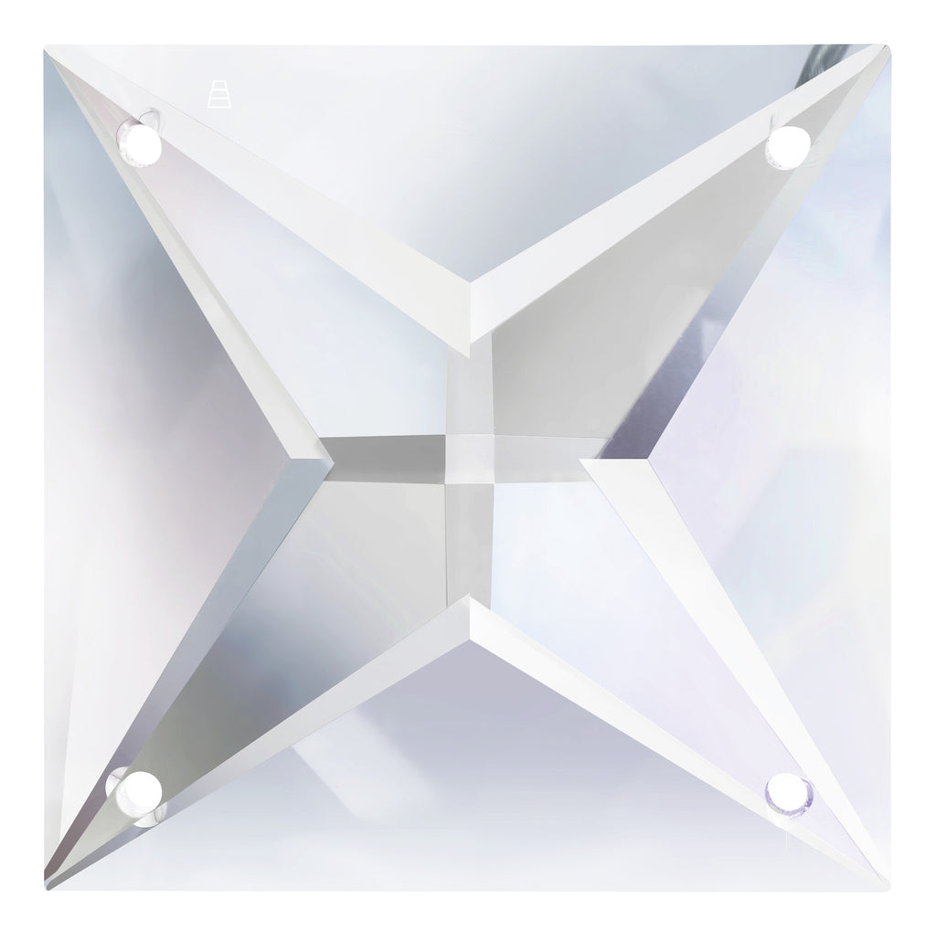 SWAROVSKI STRASS®(br>4 Hole Square Prism (6 sizes)
