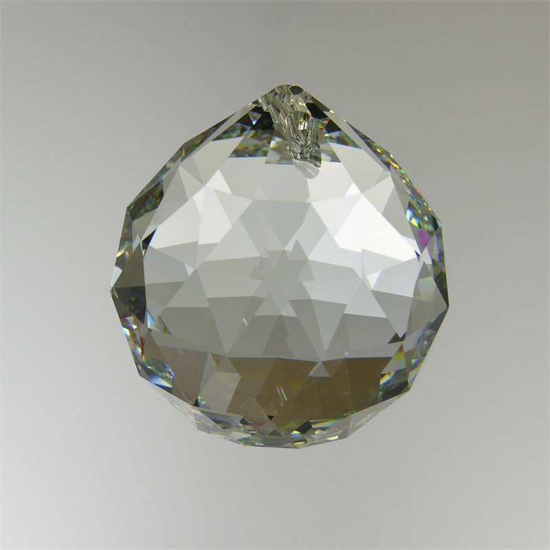 SPECTRA CRYSTAL Clear Faceted Ball (4 sizes)