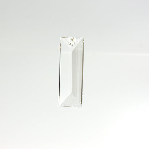 SWAROVSKI STRASS®<br>63mm Clear Rectangular Prism, 1 hole