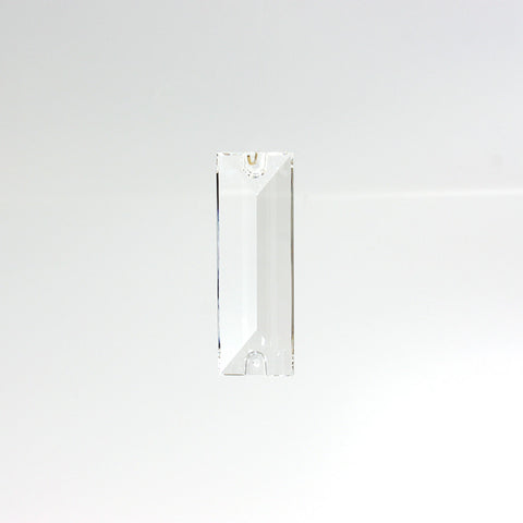 SWAROVSKI STRASS®<br>63mm Clear Rectangular Prism, 2 hole