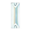 SWAROVSKI STRASS®<br>Clear Rectangular Prism, 2 hole