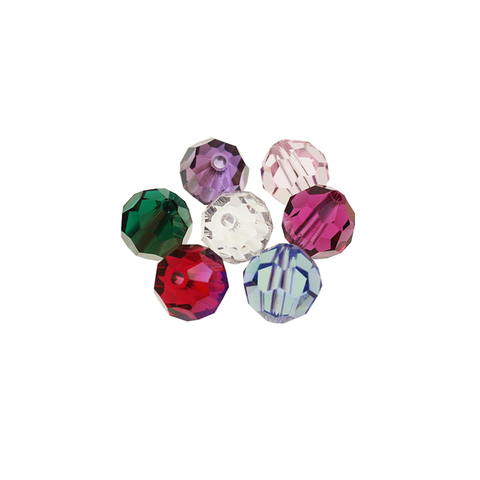 SWAROVSKI STRASS®<br>10mm Colored Beads (8 colors) Packs of 100