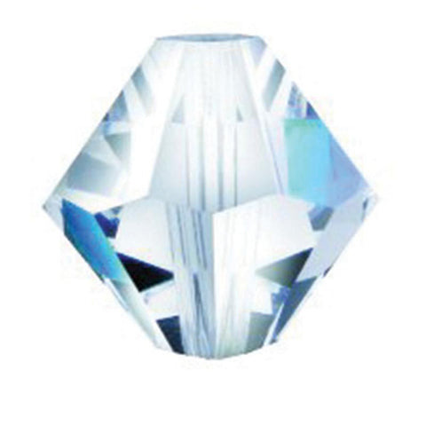 SWAROVSKI STRASS®<BR>Prism Bead, Center Hole (2 sizes)