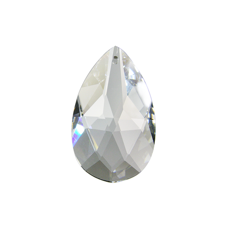 ASFOUR 30% Lead Crystal Full Cut Teardrop <br> (6 sizes)