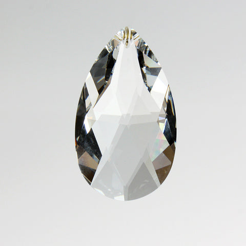 SWAROVSKI STRASS® <Br>Full Cut Clear Teardrop (8 sizes)