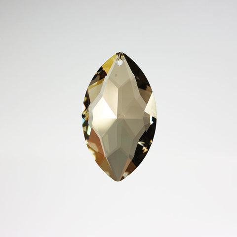 SWAROVSKI STRASS®<br>50mm Oval Prism (Golden Teak)
