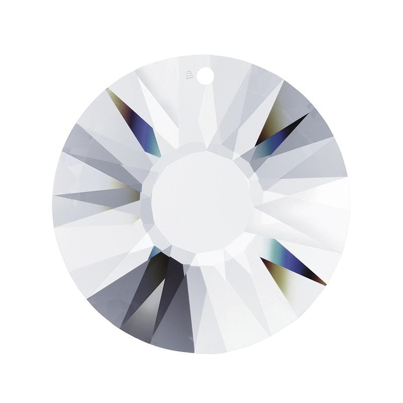 SWAROVSKI STRASS®<br>Clear Sun Prism, 1 or 2 hole